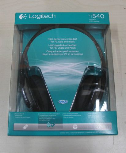 Logitech H540 Plug-and-play USB Premium Headset for PC Calls and Music